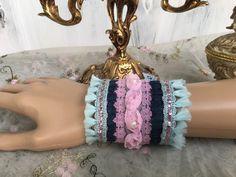Armbänder - Armband, , Boho, Vintage, Shabby - ein Designerstück von TASCHENWERK-C-S- bei DaWanda