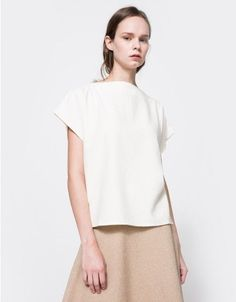 d81a7c39766a5 Baserange   Sevinc Tee in Off White