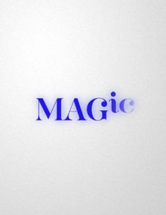 The designer of the logo put the last two letters of the logo in lowercase to show that magic fading away like magic.
