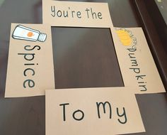 You're the Pumpkin to my Spice care package flaps by AmandaKatesKrafts on Etsy