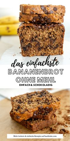 Best Food Ever, Banana Bread, Oatmeal, Good Food, Food And Drink, Low Carb, Ice Cream, Sweets, Snacks