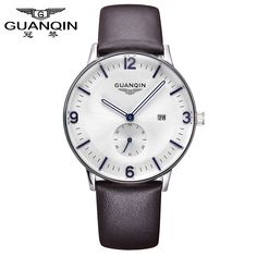 GUANQIN Man Simple Business Watch-$13.39