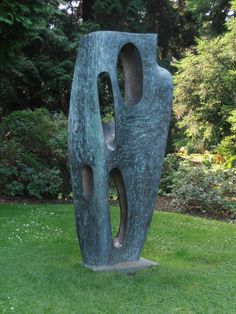 Rock Form (Porthcurno) by Barbara Hepworth - her stuff really makes me happy