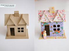diy {storage house for peg dolls}