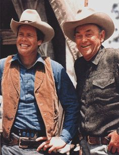 The Virginian Dou McClure and John McIntire as Clay Grainger