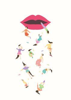 そうじゃなくて Illustration Art, Illustrations, Pastel Colors, Collage, Artwork, Pattern, Pastel Colours, Collages, Work Of Art