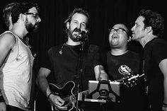 Richard Speight Jr, Rob Benedict, Louden Swain sing Seven Bridges Road--- Supernatural con