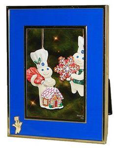 Pillsbury Doughboy Picture Frame