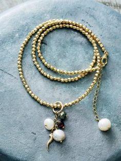 Goldfilled necklace - Happinez