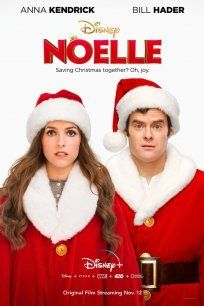 Bill Hader and Anna Kendrick in Noelle Anna Kendrick, Bill Hader, Top Rated Tv Shows, Maria Riva, Shirley Maclaine, Version Francaise, English Movies, Disney Plus, Movie Photo