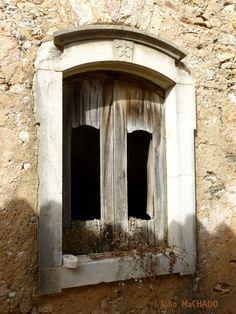 Janela em ruína