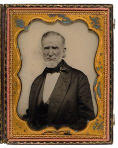revolutionary war vetern photos | Jabez Holmes, Revolutionary War Veteran, Ambrotype, - Cowan's Auctions