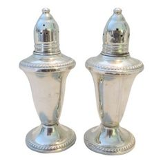 One Kings Lane! $159 Glass Lined Sterling Salt & Pepper