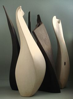 ceramic sculpture by Soforbis, via Behance