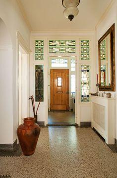 glas in lood. Home Interior, Interior Design, Art Deco Door, Art Deco Lamps, Art Deco Buildings, Art Deco Furniture, Art Of Living, Living Room, Home Projects