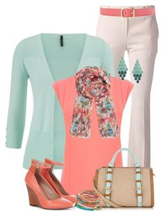 """""""Spring Fling"""" by maggie478 ❤ liked on Polyvore featuring Alexander McQueen, maurices, Oasis, American Vintage, Sole Society, Lipsy, ALDO and White House Black Market"""