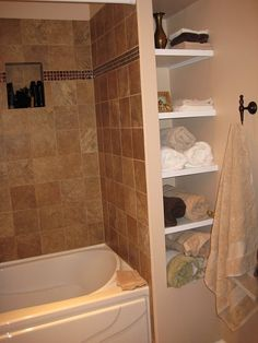 Bathtub Niches I Installed And Tiled Home And Remodel