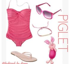 Piglet :) disney outfits :)