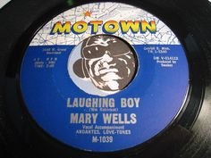 Mary Wells - Lauging Boy b/w Two Wrongs Don't Make A Right - Motown #1039 - Motown