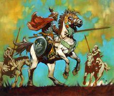 Jeff Miracola - Knight of Valor