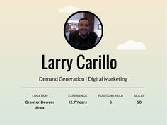 Larry Carillo Slides