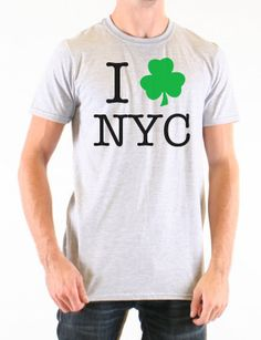 NYC St. Patricks Day T Shirt  New York City St by SublimiTees, $17.50