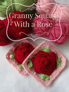 How to Read Granny Square Charts: Babouska Rose