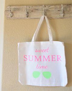 Everyday Tote Bag Sweet Summertime