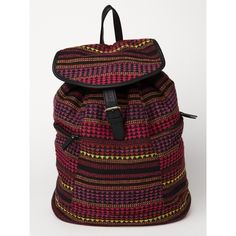 Roxy Camper Backpack ($26) ❤ liked on Polyvore featuring bags, backpacks, backpack, bright rose, day pack backpack, logo bags, knapsack bags, roxy rucksack and buckle backpack