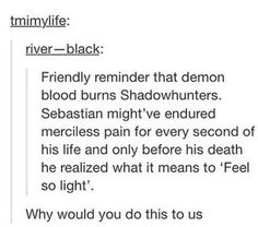 NOPE<<<The boy who died was not Sebastian Morgenstern, he died Jonathan Christopher