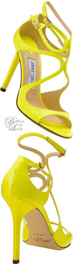 Brilliant Luxury ♦ Jimmy Choo Lang Sandals #brilliantluxury