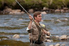"Ewen fly fishing from ""Salmon Fishing in the Yemen"""
