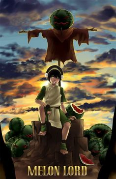 Toph is the MELON LORD!