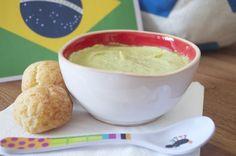 Recettes du Monde pour bébés gourmets, Crème d'avocat et ananas et pao de queijo