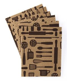 Take a look at this Design Imports Sand Dune Utensils Clean Cloth - Set of Eight by Design Imports on #zulily today!