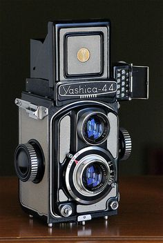 Lovely Yashica 44 TLR (1959), but it uses 127 film...almost impossible to find these days.
