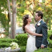 Mr. & Mrs. in the Gardens. http://whitneyleephotography.com/