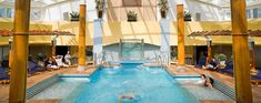 Outfitted for every indulgence! Bask in the sunshine by the solarium pool #cruise https://destinations.jaunt.ca/articles/cruise-week-specials