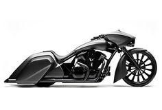 Love these lines...can't believe it's a Honda!!!  SLAMMER BAGGER | CUSTOM HONDA VT 1300 | Image