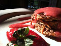 glutenfreehappytummy: Carrot Cake Pancakes! GF, V, BED, SCD!