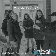 """Sounds like a plan"" Van Duivenboden interieur #Haarlem #LabelMeFilm making_of MEER_WETEN? #LMF"