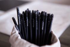 ´ohne butter´ pencils Butter, Pencil, Logo, Logos, Logo Type, Butter Cheese, Environmental Print