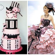 Vera Wang dress-inspired from CakeCentral.com.