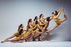 The group of modern ballet dancers by Volodymyr Melnyk on 500px