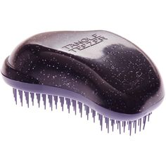Tangle Teezer Detangling Hair Brush , Purple featuring polyvore, beauty products, haircare, hair styling tools, brushes & combs, beauty, hair, makeup, cosmetics, kosmetyki, hair brush comb, tangle teezer hairbrush, hair brush and tangle teezer