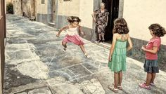 'Passju' - Old Maltese street games. I hate to see how malta changed so much, I had great childhood.