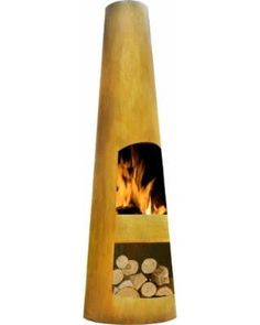 outdoor fire chiminea - Google Search