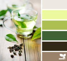 Green Color Palette 39 S On Pinterest Design Seeds Flora And Color Palettes