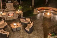 Chilly on a summer night? Light up your Cambridge Outdoor Fireplace and spread the warmth.