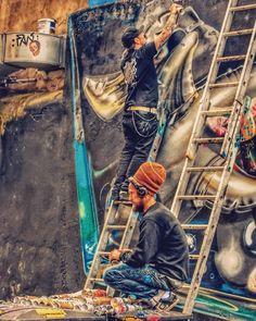 WiP Fanakapan & Louis Masai collabo   Meeting of Styles festival   #StreetArt #Graffiti #UrbanArt #MeetingOfStyles2016 #ArtFest #Fanakapan #LouisMasai #PedleyStreet #Shoreditch #London #GalaxyS3 #SprayDaily #tv_streetart #rsa_graffiti #dsb_graff #GullySteez #TagLifeGraffiti #NotBanksyForum #MuralsDaily #StreetArtNews #GraffitiLondon #GraffitiUK #StreetArtLondon #StreetArtUK #LondonStreetArt #UkStreetArt #ShoreditchStreetArt #StreetArtEverywhere by apollobelladona from Shoreditch feed from…